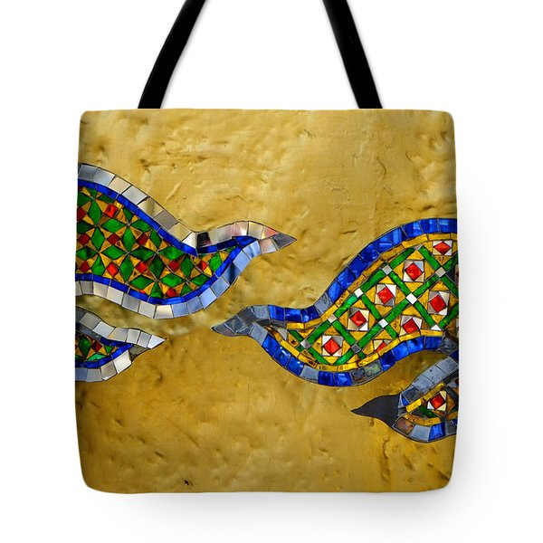 Shiny Wings Tote Bag