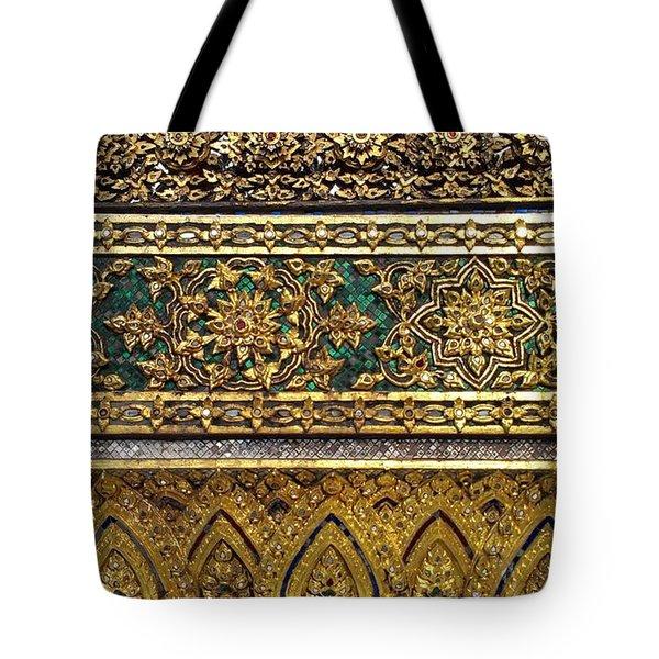 Thai Kings Grand Palace Tote Bag