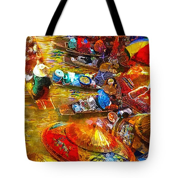Thai Market Day Tote Bag