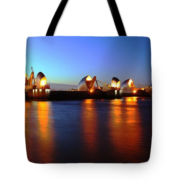 Tote Bag featuring the photograph London Thames River by Mariusz Czajkowski