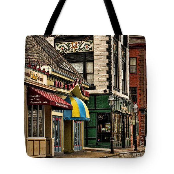 Thames Street Before The Crowds Come Tote Bag