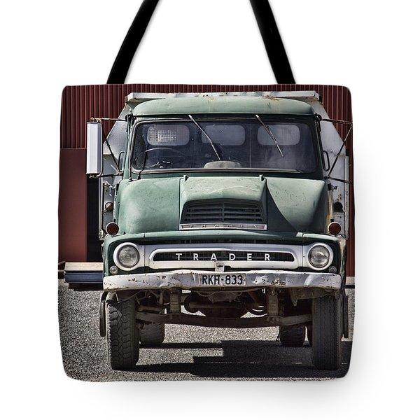 Thames Trader Vintage Truck Tote Bag by Douglas Barnard