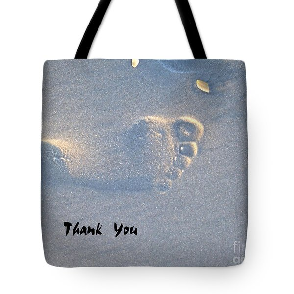 Tote Bag featuring the photograph Thank You by Jocelyn