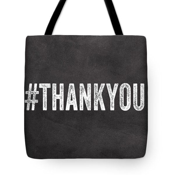 Thank You- Greeting Card Tote Bag