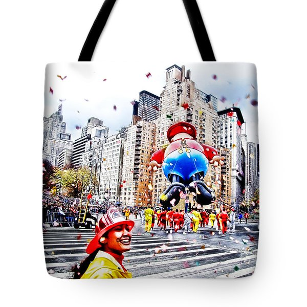 Thanksgiving Parade Tote Bag by Nishanth Gopinathan