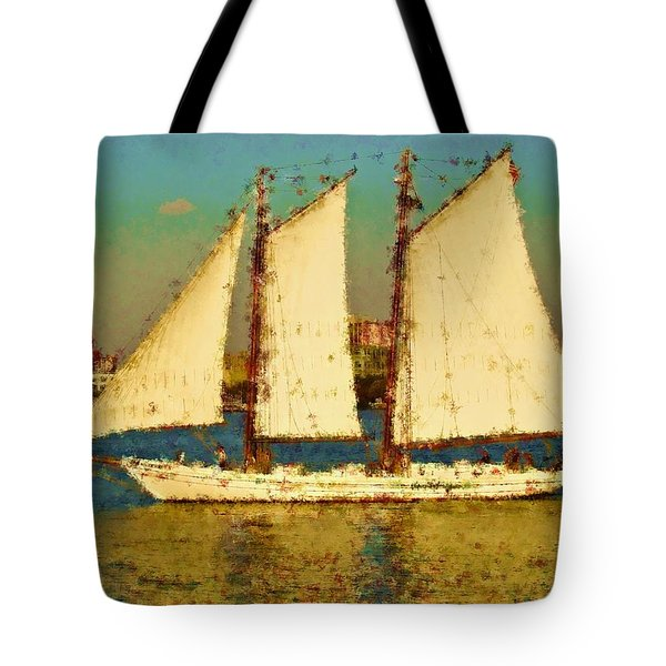 That Ship Tote Bag by Alice Gipson