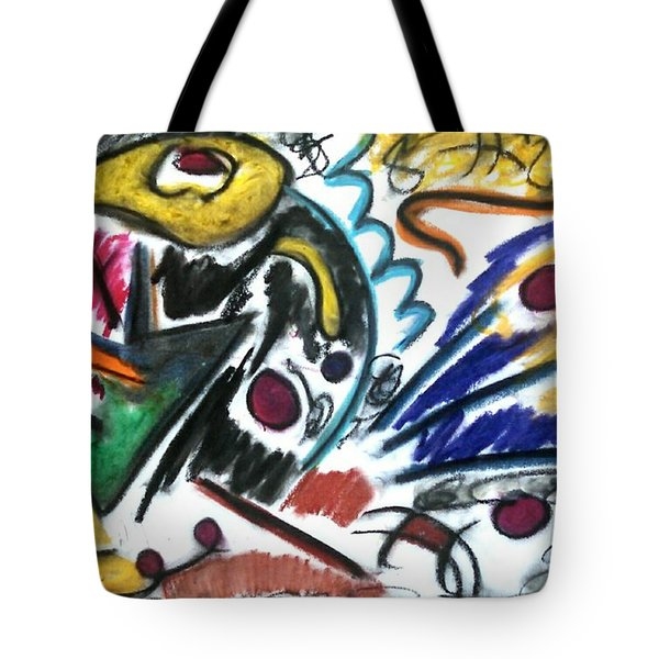 That Which Remains Unseen Tote Bag