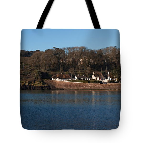 Thatched Cottages In A Town, Dunmore Tote Bag
