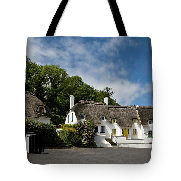 Thatched Cottages Near Dunmore Tote Bag