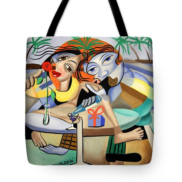Thats Amora Tote Bag by Anthony Falbo