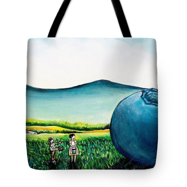 That's Gonna Make A Lot Of Pies Tote Bag by Shana Rowe Jackson