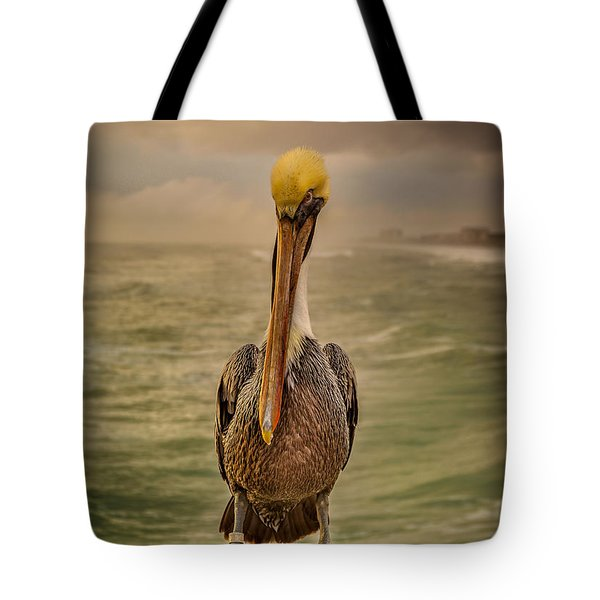 That's Mr. Pelican To You Tote Bag