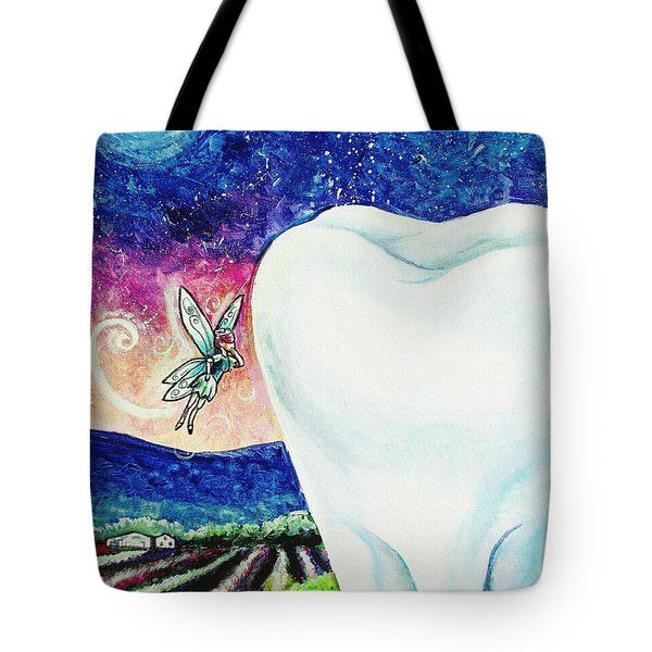 That's No Baby Tooth Tote Bag by Shana Rowe Jackson