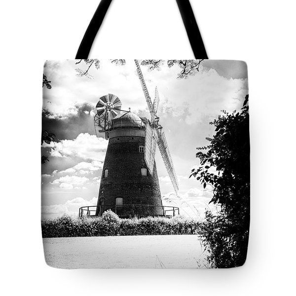 Tote Bag featuring the photograph Thaxted Mill Essex  by Jack Torcello