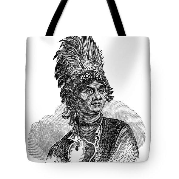Thayendanegea, Joseph Brant, Mohawk Tote Bag