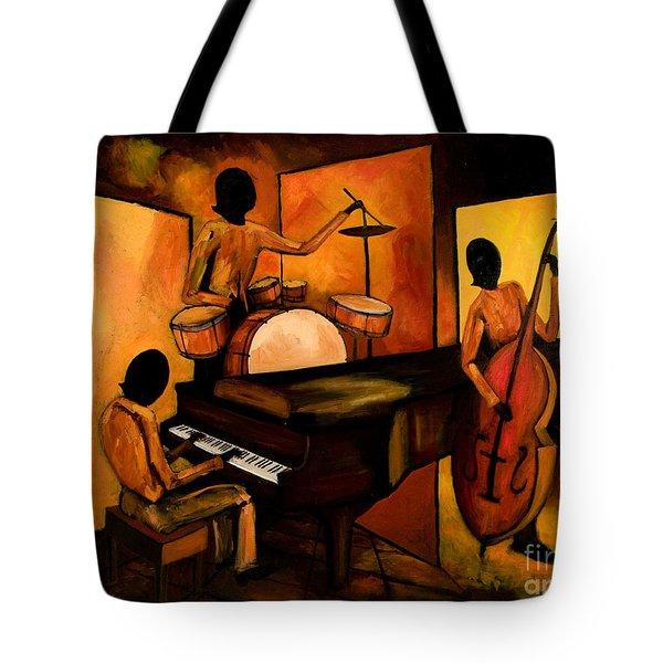 The 1st Jazz Trio Tote Bag