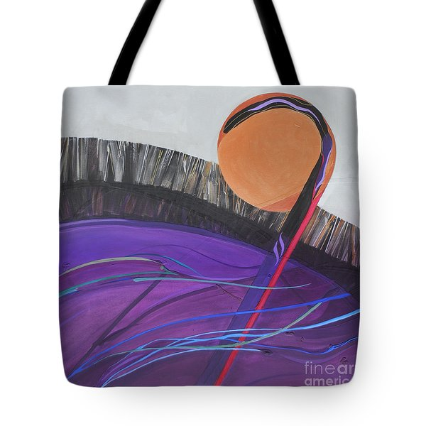 The 23rd Psalm  The Lord Is My Shepherd Tote Bag by Marlene Burns