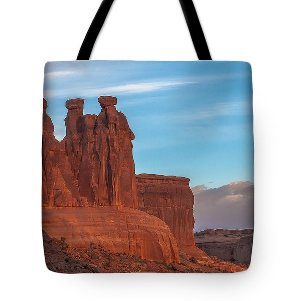 The 3 Gossips  Tote Bag