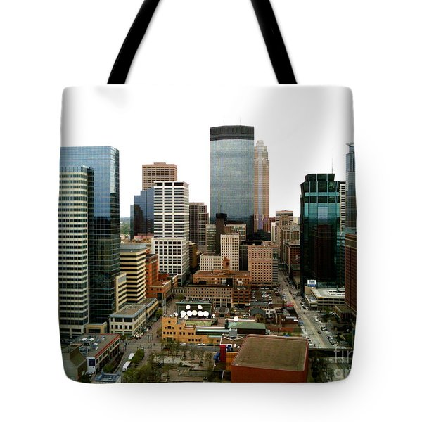 Tote Bag featuring the photograph The 35th Floor by Jacqueline Athmann