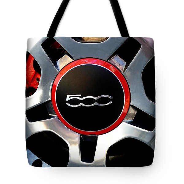 The 500 Tote Bag by Richard Reeve