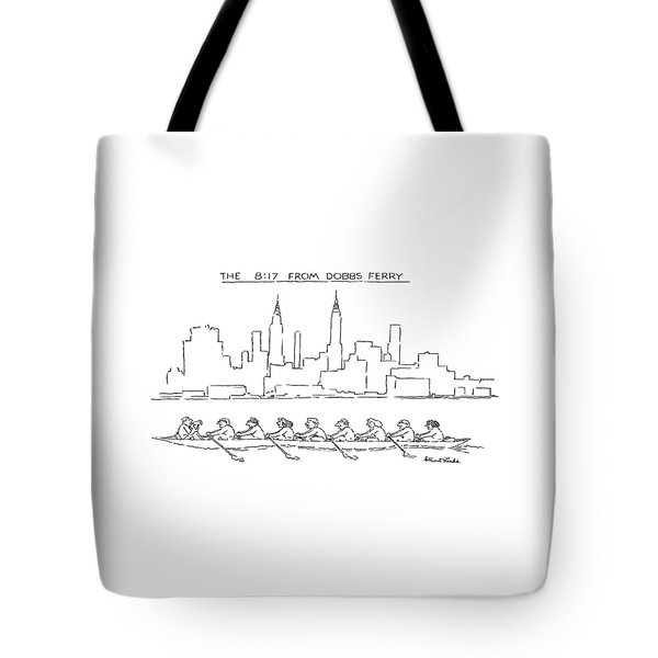 The 8:17 From Dobbs Ferry Tote Bag