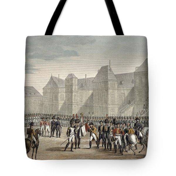 The Abdication Of Napoleon Tote Bag