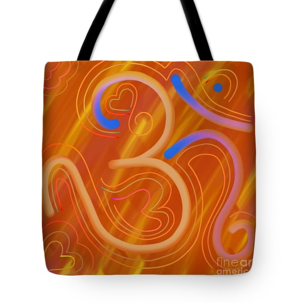 The Abstract Om-4 Tote Bag