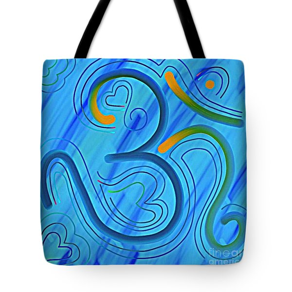 The Abstract Om-6 Tote Bag