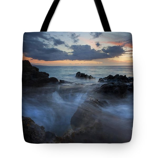 The Abyss Tote Bag by Mike  Dawson