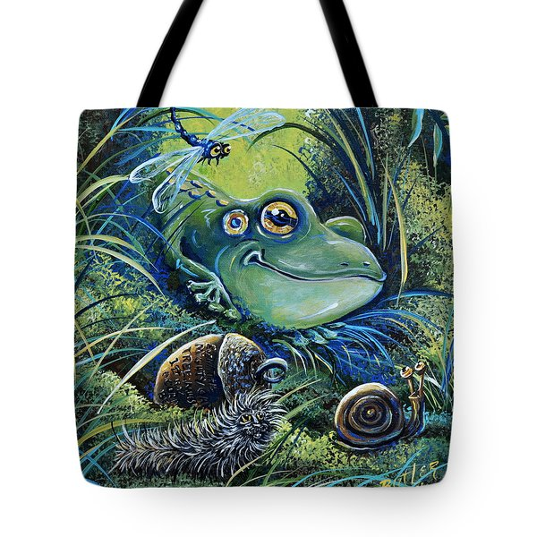The Acorn Tote Bag by Gail Butler