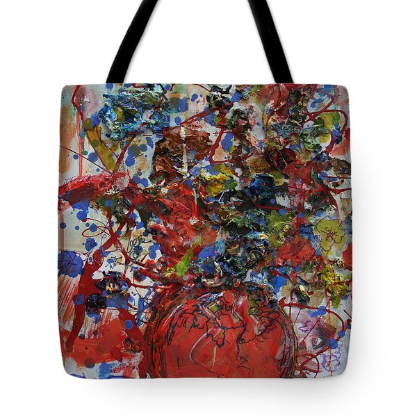 The Acrylic Bouquet  Tote Bag by Avonelle Kelsey