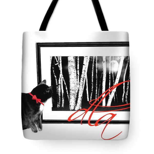 The Capture Tote Bag by Diana Angstadt