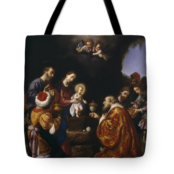 The Adoration Of The Magi Tote Bag by Carlo Dolci