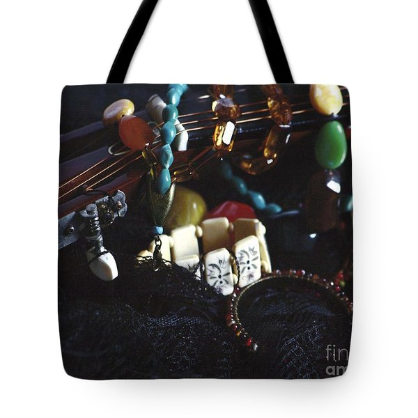 The Adorned Jewel-a Tote Bag