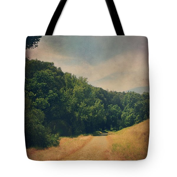 The Adventure Begins Tote Bag by Laurie Search