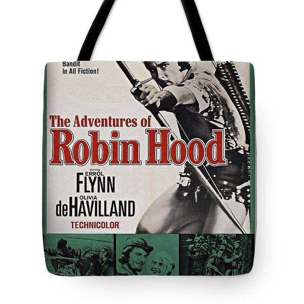 The Adventures Of Robin Hood B Tote Bag