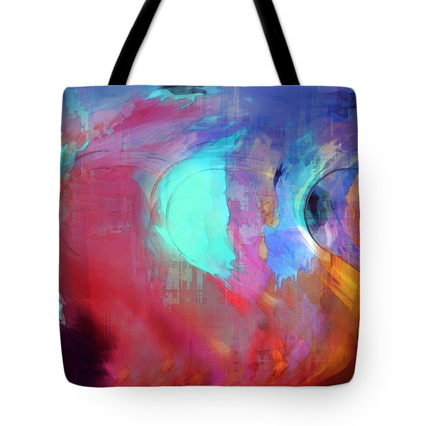 The Afterglow Tote Bag by Linda Sannuti