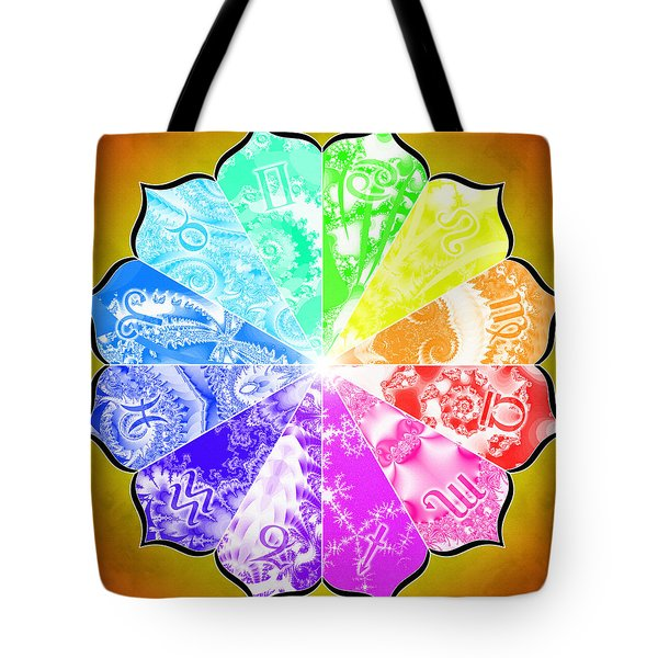 The Age Of Pisces Tote Bag by Derek Gedney