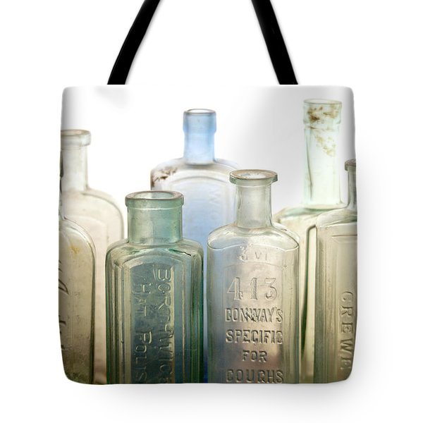 The Ages Reflected In Glass Tote Bag