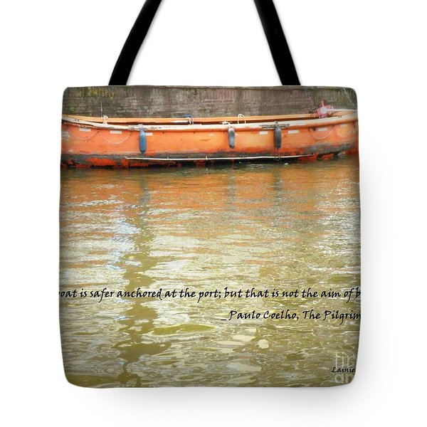 The Aim Of Boats Tote Bag