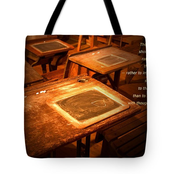 The Aim Of Education Tote Bag