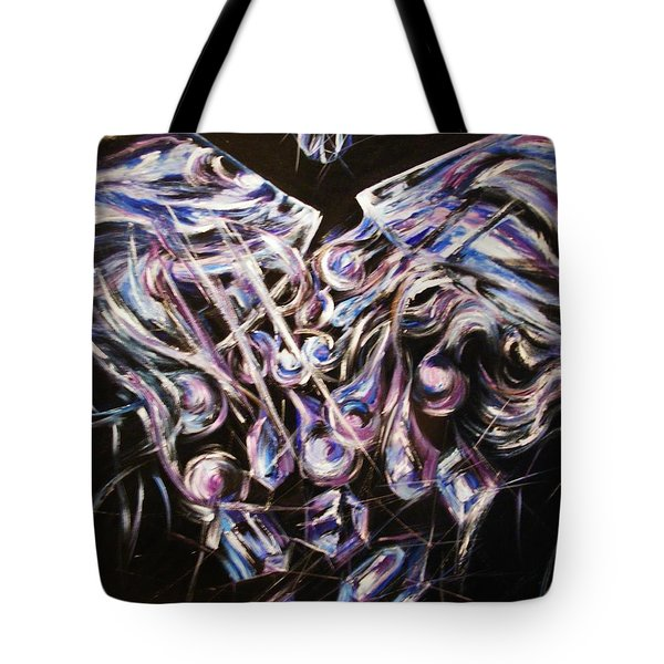 Tote Bag featuring the painting The Alchemist by Karen  Ferrand Carroll