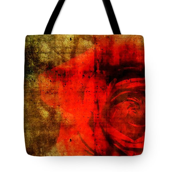The Allure Of A Rose Tote Bag by Brett Pfister