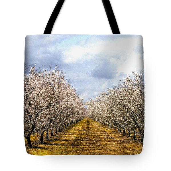 The Almond Orchard Tote Bag