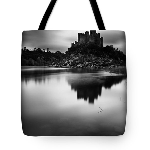 The Almourol Castle Tote Bag by Jorge Maia