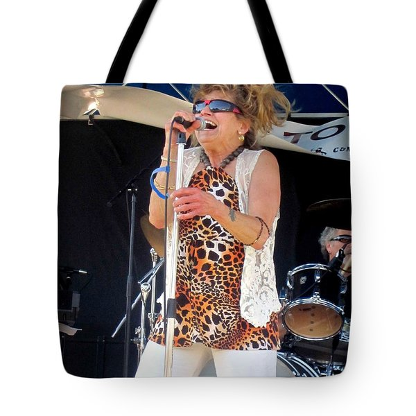 Tote Bag featuring the photograph The Amazing Lydia Pense by Fiona Kennard