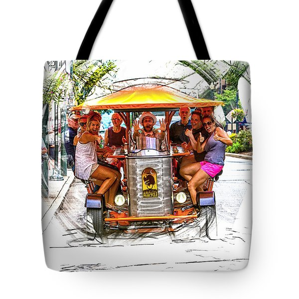The Amazing Pubcycle Tote Bag