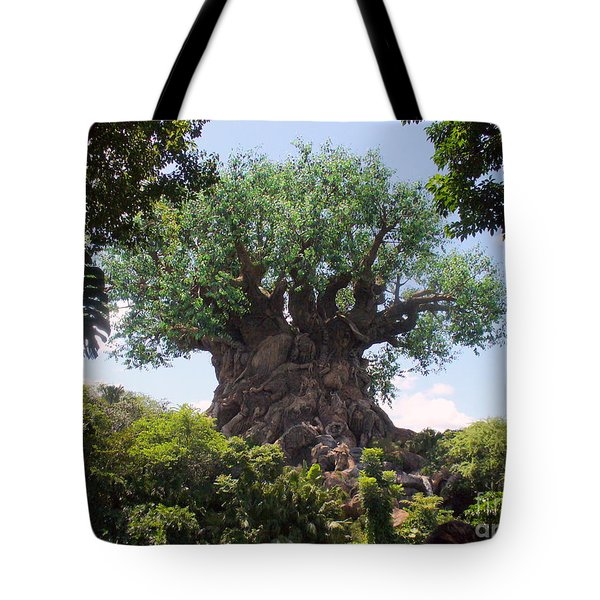 The Amazing Tree Of Life  Tote Bag by Lingfai Leung