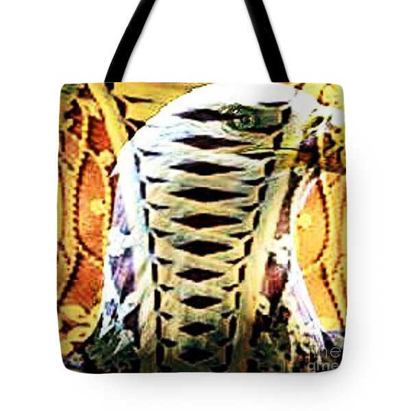The American Bald Eagle Naughty Eagle 2 Tote Bag by PainterArtist FIN