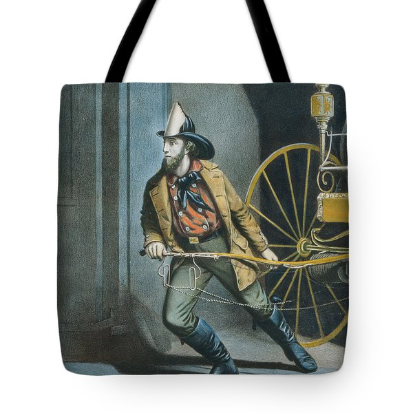 The American Fireman Always Ready Tote Bag